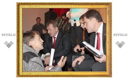 Владимир Груздев провел встречу с властями Одоевского района