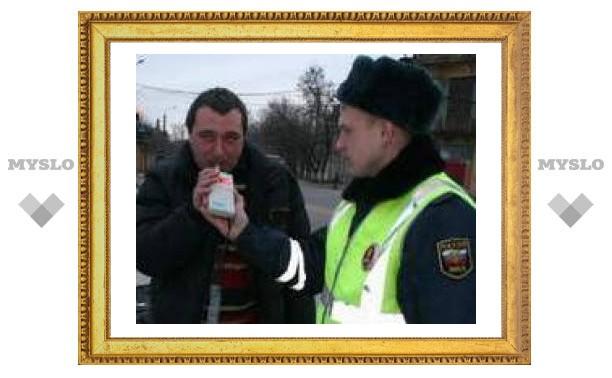 Тульские гаишники охотятся на пьяных водителей