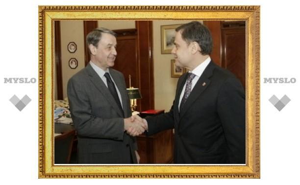 Министр культуры РФ встретился с губернатором Тульской области