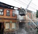 На ул. Фридриха Энгельса в Туле сгорел жилой двухэтажный дом