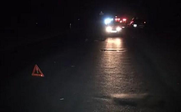 Два человека погибли в ночном ДТП в Тульской области
