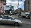 В Туле не работают светофоры на перекрёстке улиц М. Горького и Октябрьской