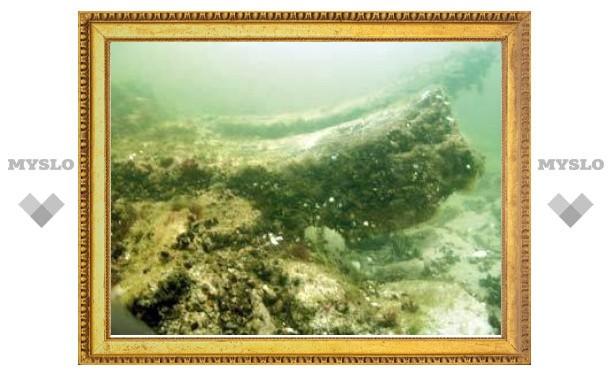"""На пути """"Северного потока"""" нашли затонувшие средневековые суда"""