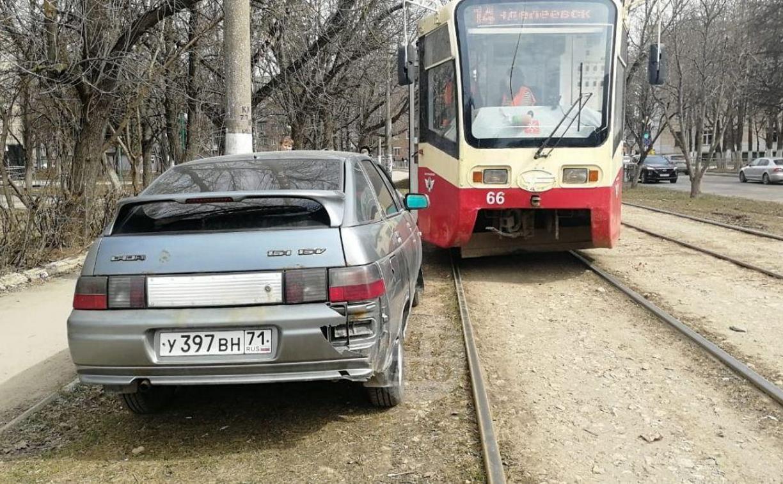 «Накажи автохама»: трамвай не объедет