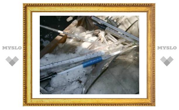 В центре Тулы обнаружена ртутная свалка