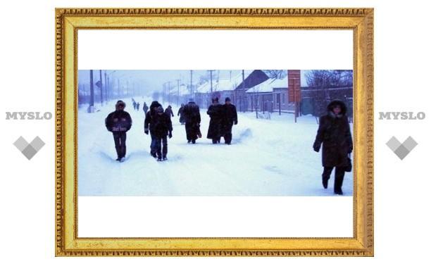 К концу недели в Туле ожидается мороз -40°
