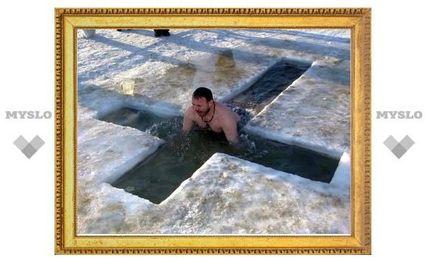 Где новомосковцам искупаться на Крещение?