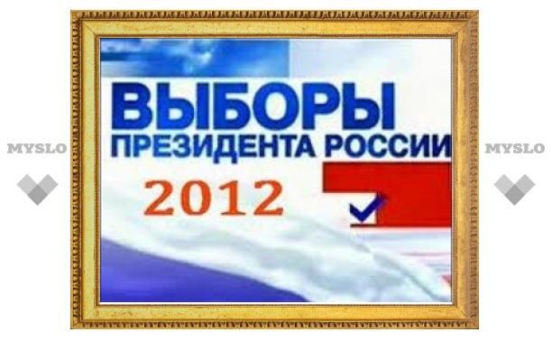 Путин лидирует на выборах Президента 2012