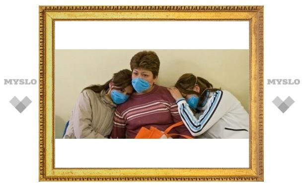 В Туле 5 заболевших свиным гриппом