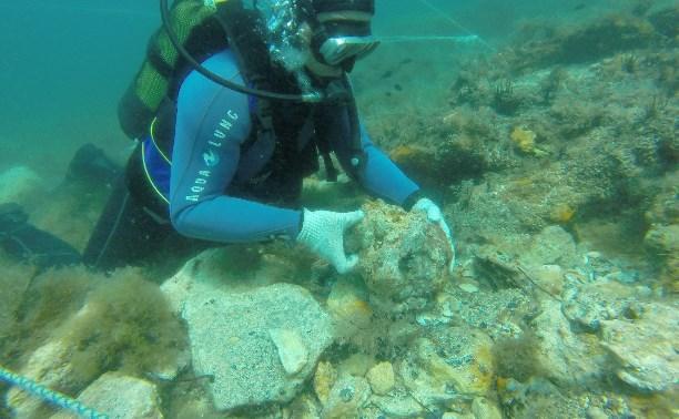 Десятки находок тульских дайверов со дна Черного моря займут место в крымских музеях