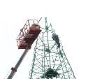 На главной площади Тулы демонтируют новогоднюю ёлку