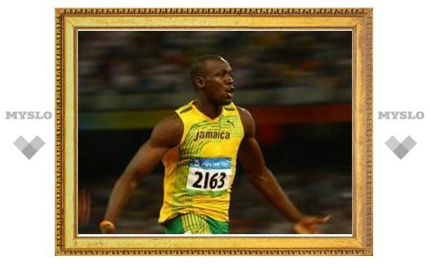 Усейн Болт установил мировой рекорд в забеге на 200 метров