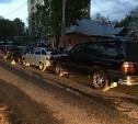 На улице Калинина столкнулись четыре автомобиля