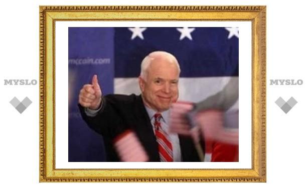 Джон Маккейн выиграл праймериз республиканцев в штате Флорида