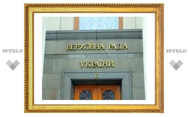 Верховная рада не пустила иностранные войска на Украину
