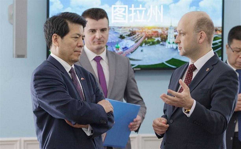 Делегации Нинся-Хуэйского автономного района КНР представили инвестиционный потенциал Тульской области