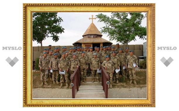 Армянские миротворцы построили в Афганистане часовню