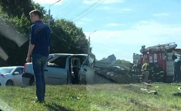 ДТП на Новомосковском шоссе в Туле: один пострадавший скончался в больнице