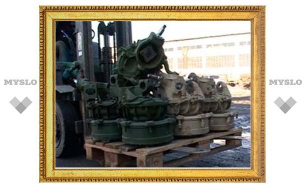 На Украину под видом пряников пытались вывезти запчасти к Т-90