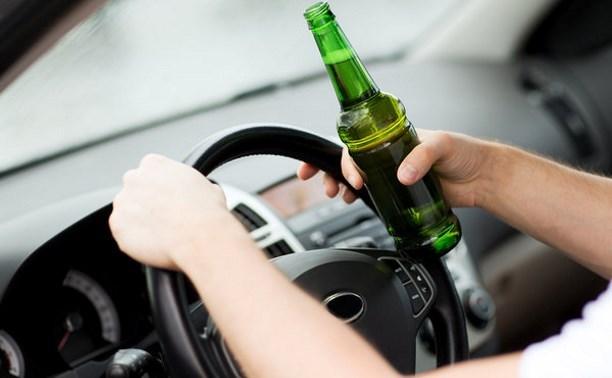За выходные в Тульской области больше полусотни водителей попались пьяными за рулем