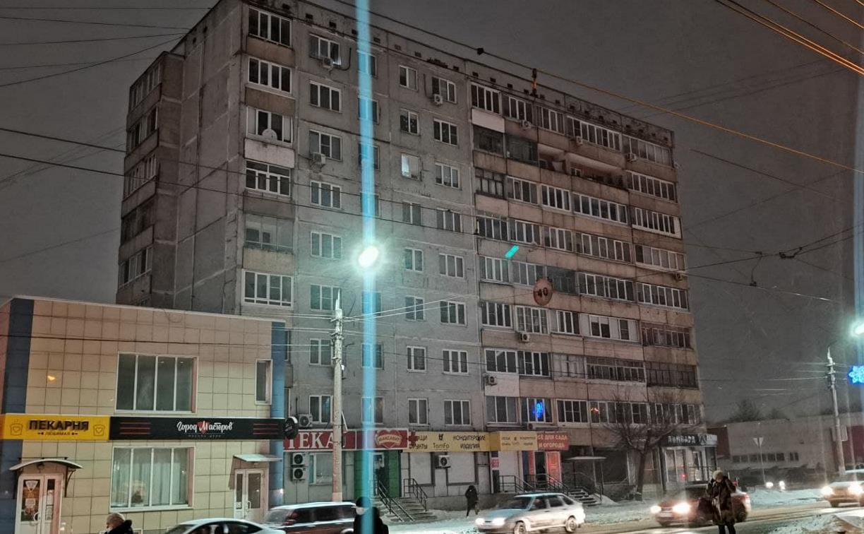 На улице Металлургов в Туле часть домов остались без электричества