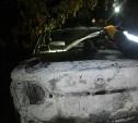 Ночью на стоянке в Новомосковске сгорели три автомобиля
