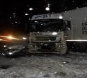 На М-2 «Крым» КамАЗ протаранил два автомобиля