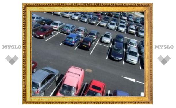 В Туле появятся новые парковочные места