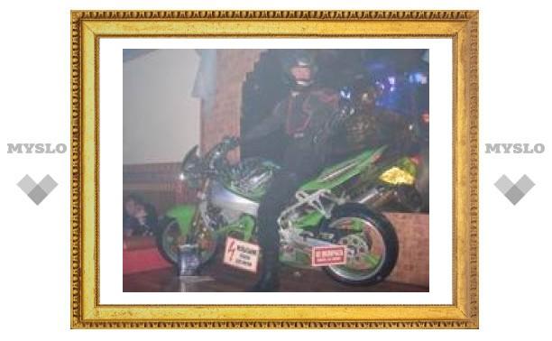 В Туле устроили дискотеку на мотоциклах