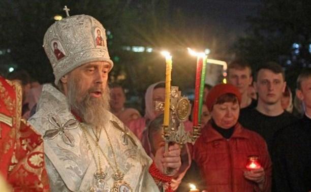 Митрополит Алексий призвал туляков воздержаться от посещения Пасхальной службы из-за коронавируса