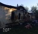 В Чернском районе на пожаре погиб мужчина