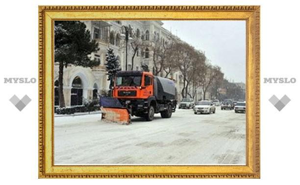 Владимиру Груздеву доложили: все региональные дороги от снега расчищены