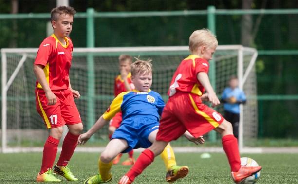 В гости к юным канонирам пожаловали футболисты из Строгино