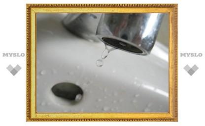 Под Тулой 11000 человек остались без воды