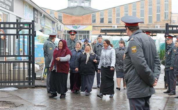 В отделения региональной полиции было доставлено 514 иностранных граждан