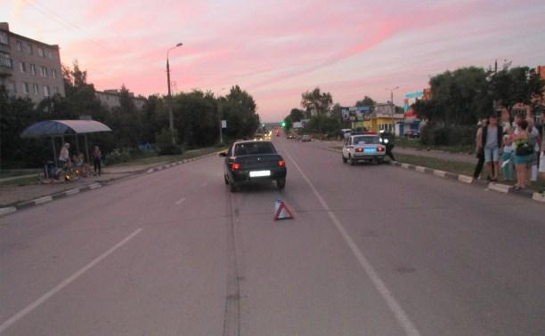 В Ефремове 11-летний мальчик попал под колёса автомобиля
