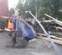 В Заокском районе столкнулись грузовик и пассажирский поезд