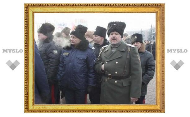 Выборы Президента РФ в Тульской области будут охранять казаки