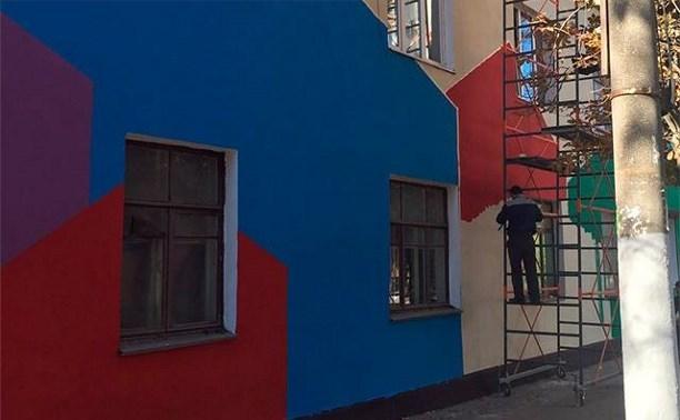 До 1 ноября в Привокзальном районе появятся три разноцветных дома