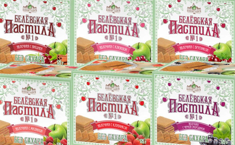 Попробуйте новинку от «Белёвской пастилы» – фруктовые вкусы без сахара