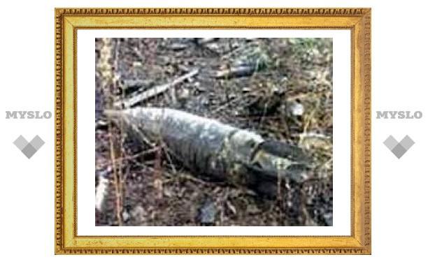 В центре Тулы обнаружили минометную мину
