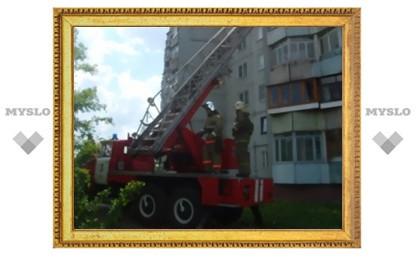 В Туле в жилом доме возник пожар