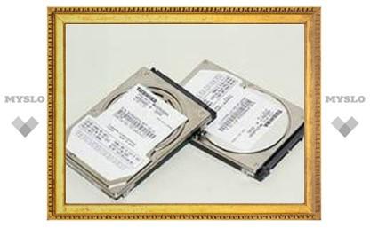 Toshiba анонсировала первый 320-гигабайтный жесткий диск для ноутбуков