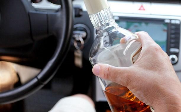 За прошедшие выходные в Тульской области поймали 45 пьяных водителей