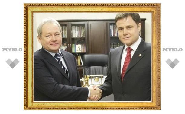Владимир Груздев встретился с министром регионального развития Виктором Басаргиным