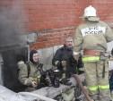 В Туле загорелась новостройка для переселенцев из аварийного жилья