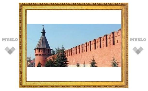 Тульский кремль превратился в оранжерею