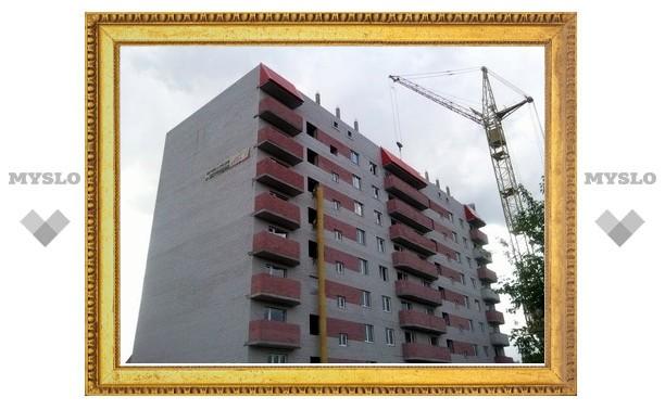 В Туле в этом году построили вдвое больше квартир