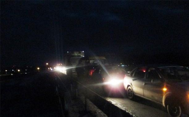 На дороге «Тула-Новомосковск» столкнулись четыре автомобиля