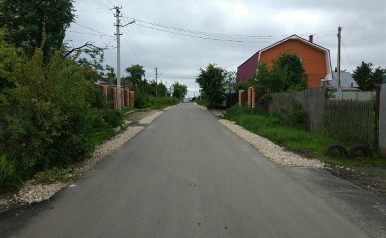 В Туле за неделю отремонтировали около 40 тысяч квадратных метров дорог